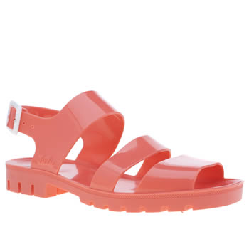 Womens Juju Jellies Pink Daisy Sandals