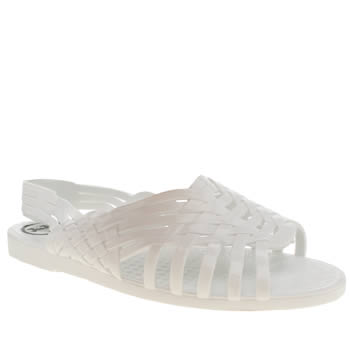 Juju Jellies White Petra Sandals