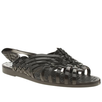 Juju Jellies Black Petra Sandals