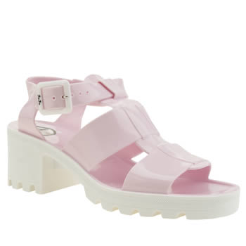 Juju Jellies Pale Pink Kyra Womens Sandals