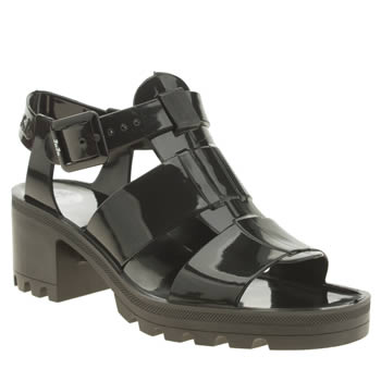 Womens Juju Jellies Black Kyra Sandals
