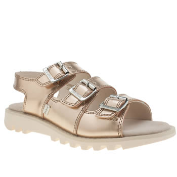 Kickers Gold Trisandal Womens Sandals