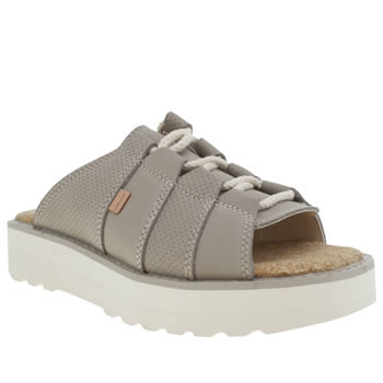 Kickers Taupe Lite Mule Womens Sandals