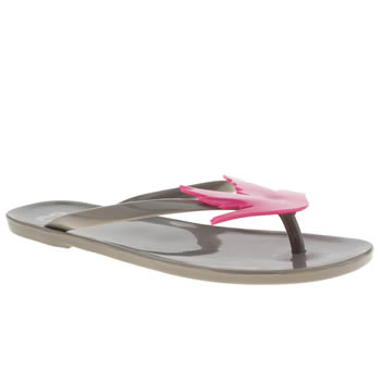 Mel Light Grey Lilly Pilly Bird Sandals