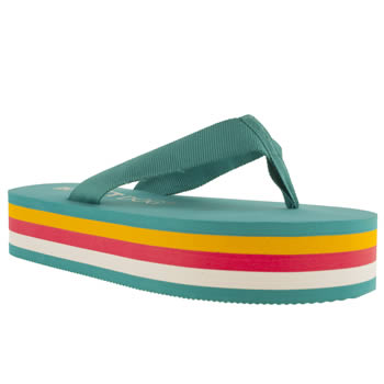womens rocket dog blue cleo sandals