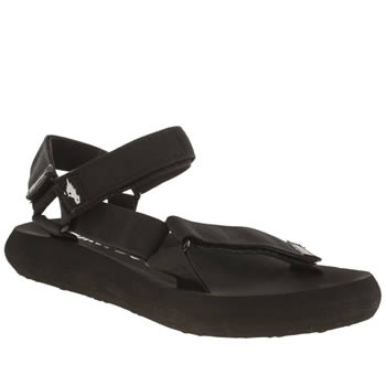 Womens Rocket Dog Black Surfside Sandals