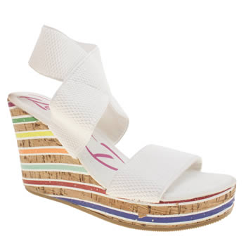 Womens Rocket Dog White Gabrieli Sandals