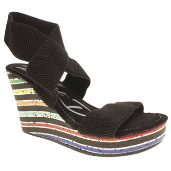 Womens Rocket Dog Black Gabrieli Sandals