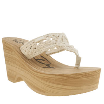 Rocket Dog Natural Helena Macrame Sandals