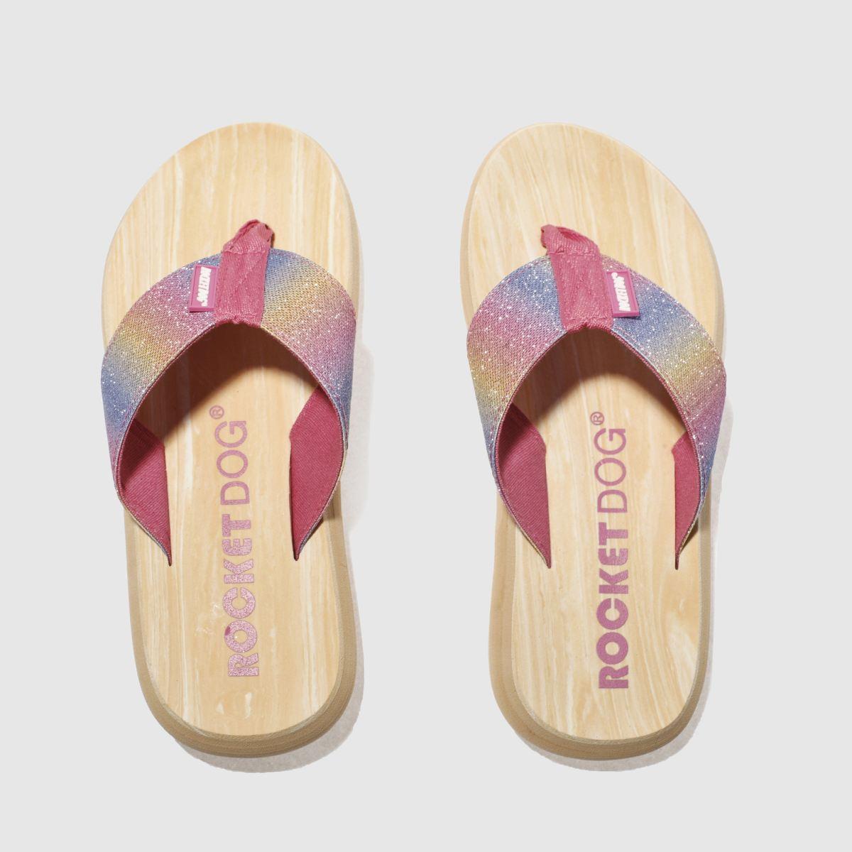 rocket dog pink spotlight sandcastle sandals
