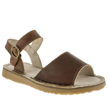 Red Or Dead Tan Tumble Weed Sandals