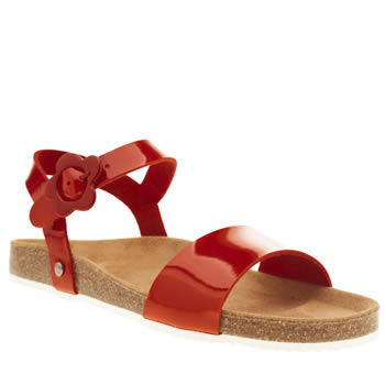 Red Or Dead Red Lula Mae Sandals