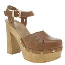 Red Or Dead Tan Maisie Bell Womens High Heels