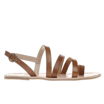 Red Or Dead Tan Maude Sandals