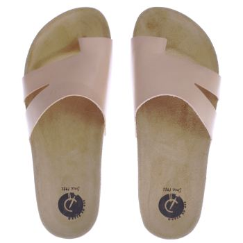 Red Or Dead Pale Pink Blanche Sandals