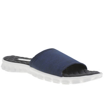 Skechers Navy & White Ez Flex Cool First Mate Sandals