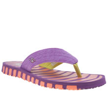 Skechers Purple Go Flex Vitality Womens Sandals