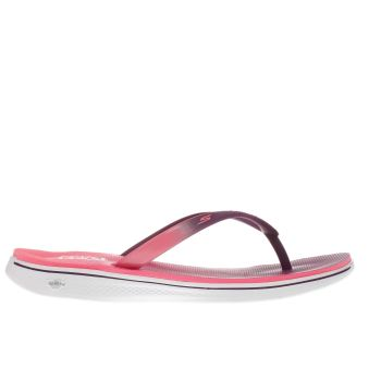 Skechers Purple & Pink H2 Goga Splash Sandals