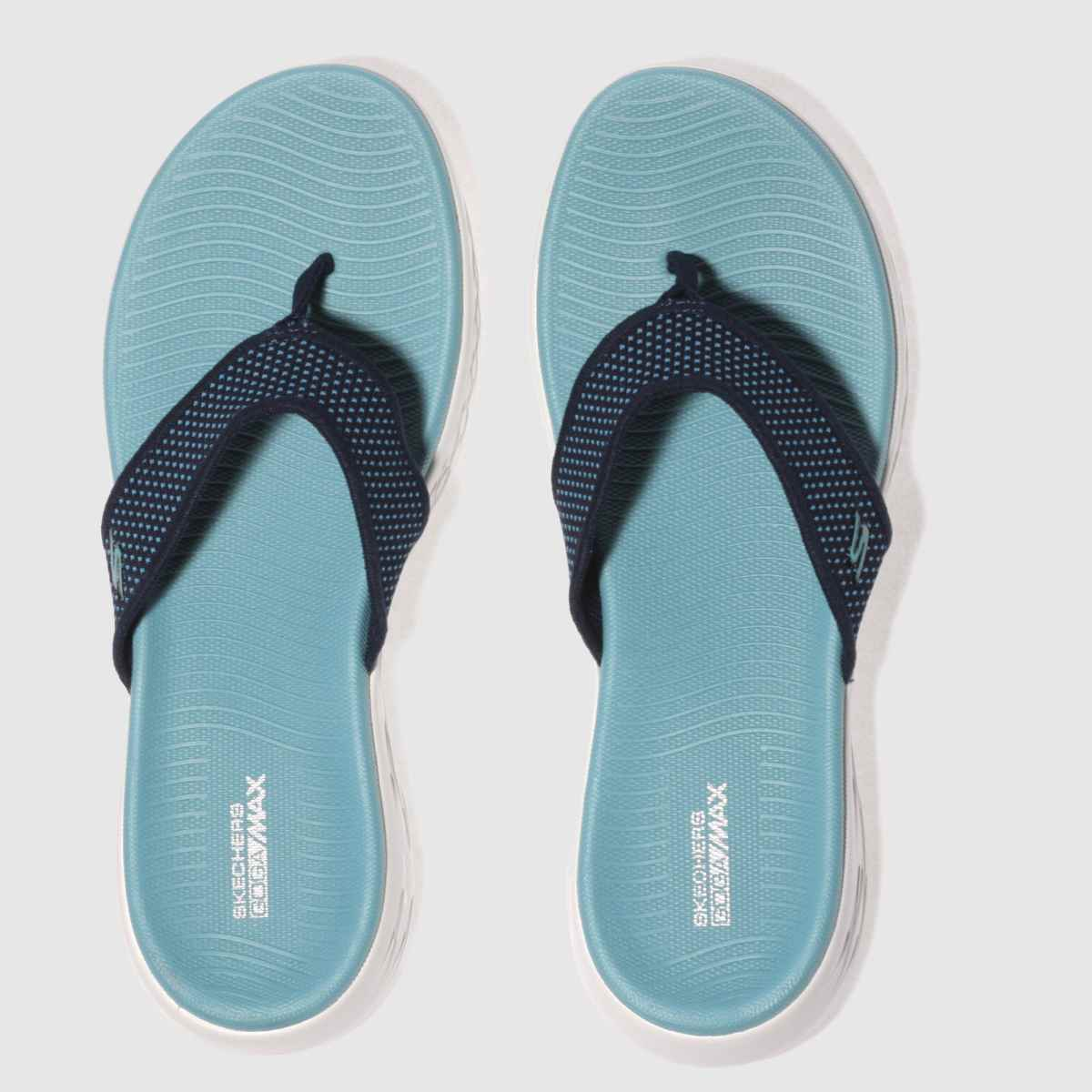 Skechers Navy On The Go 600 Sandals