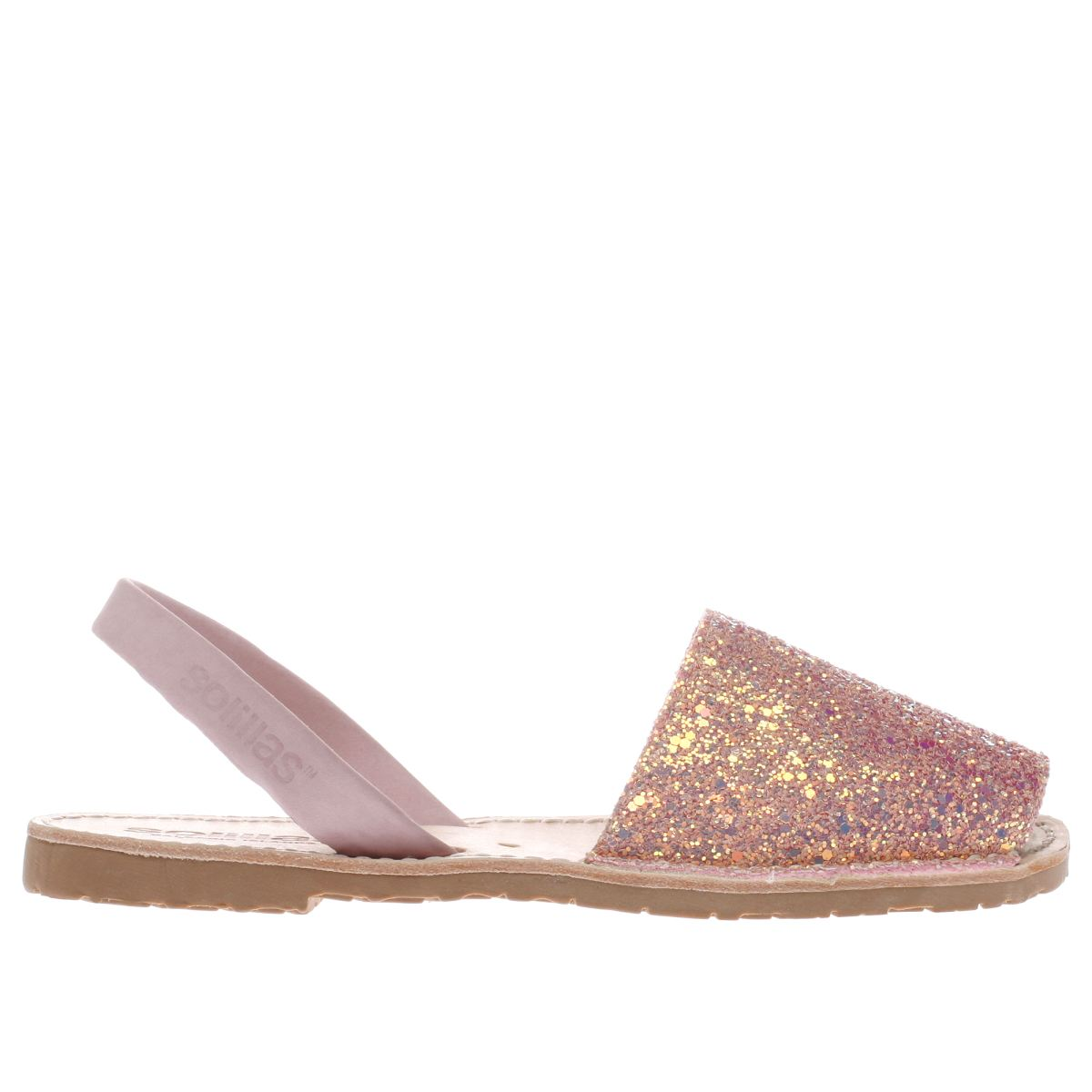 solillas pale pink original sandals