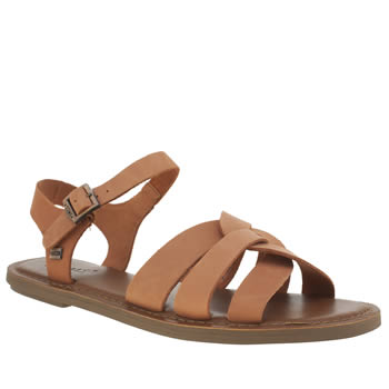Toms Brown Zoe Womens Sandals