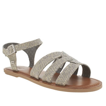 Toms Light Grey Zoe Sandals