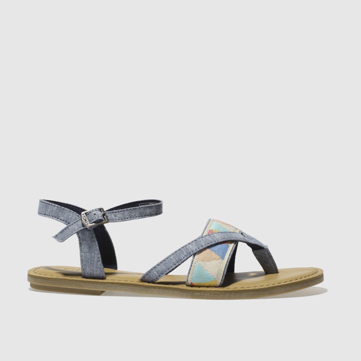 Toms Blue Lexie Sandals