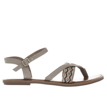 Toms Beige Lexie Womens Sandals