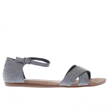 Toms Blue Correa Womens Sandals
