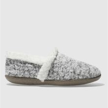 Toms White & Black House Slipper Womens Slippers