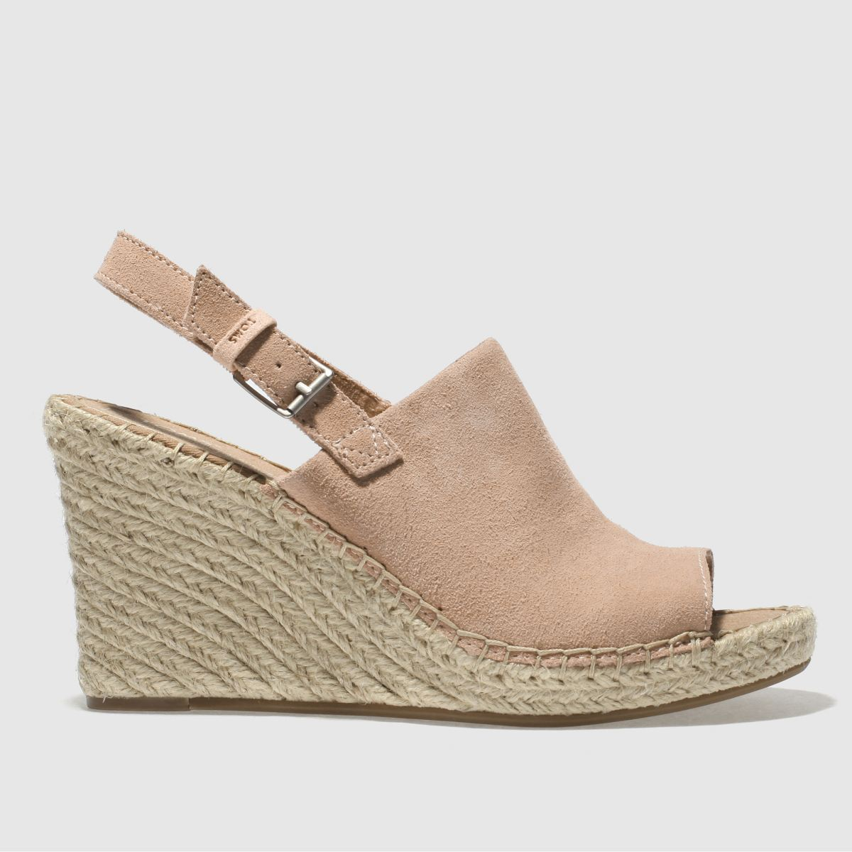 Toms Pale Pink Monica Sandals