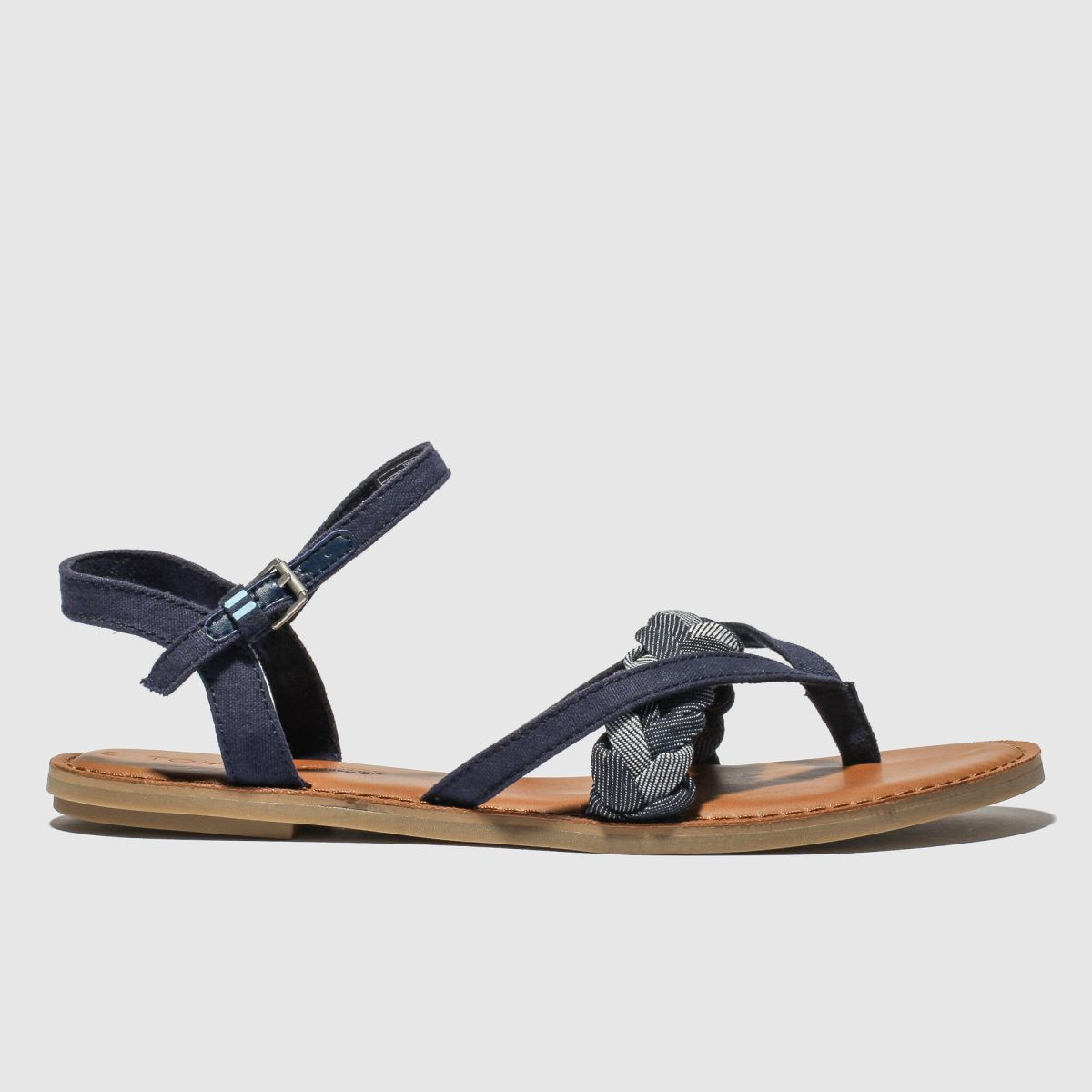 Toms Navy Lexie Vegan Sandals