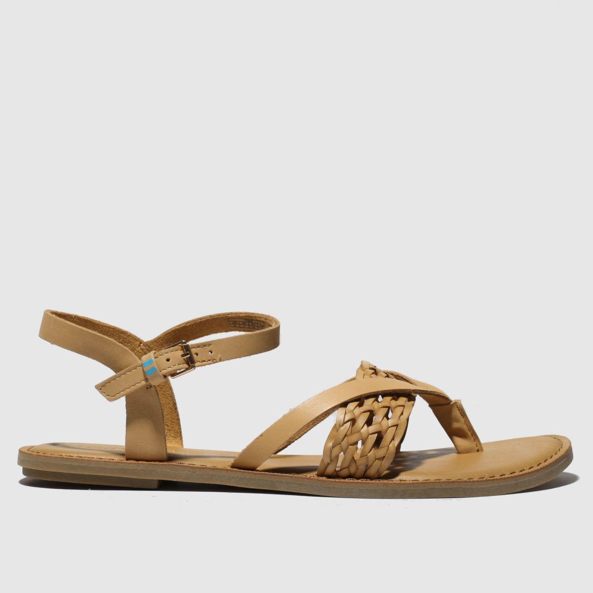 Toms Tan Lexie Sandals