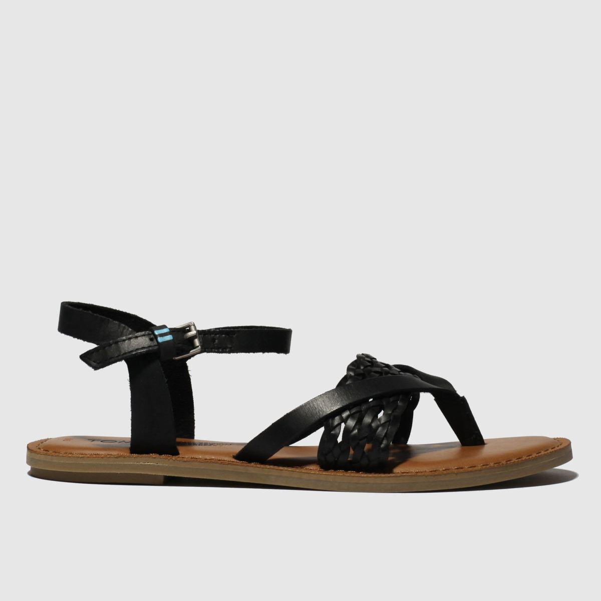 Toms Black Lexie Sandals