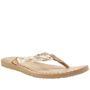 Ugg Australia White Navie Sandals