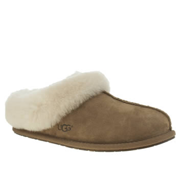 Ugg Australia Tan Moraene Womens Slippers
