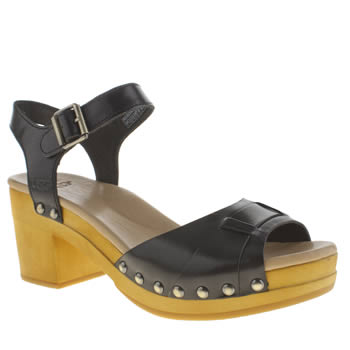 Womens Ugg Australia Black Janie Sandals