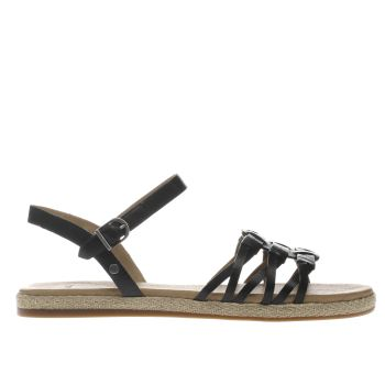 Ugg Black Larisa Womens Sandals