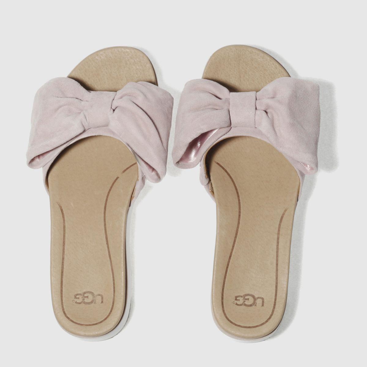 Ugg Pale Pink Joan Sandals