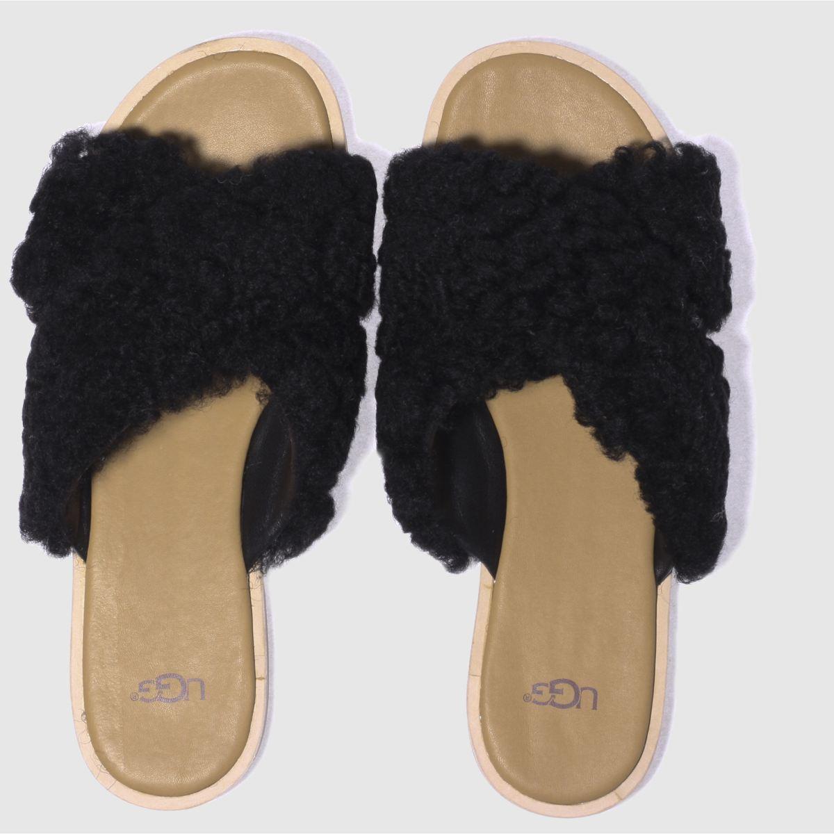 Ugg Black Joni Sandals