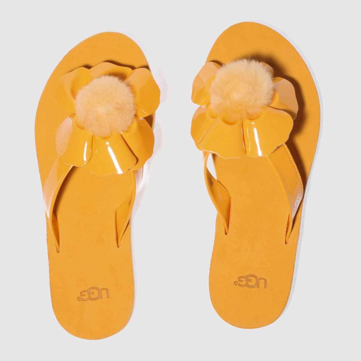 Ugg Orange Poppy Sandals