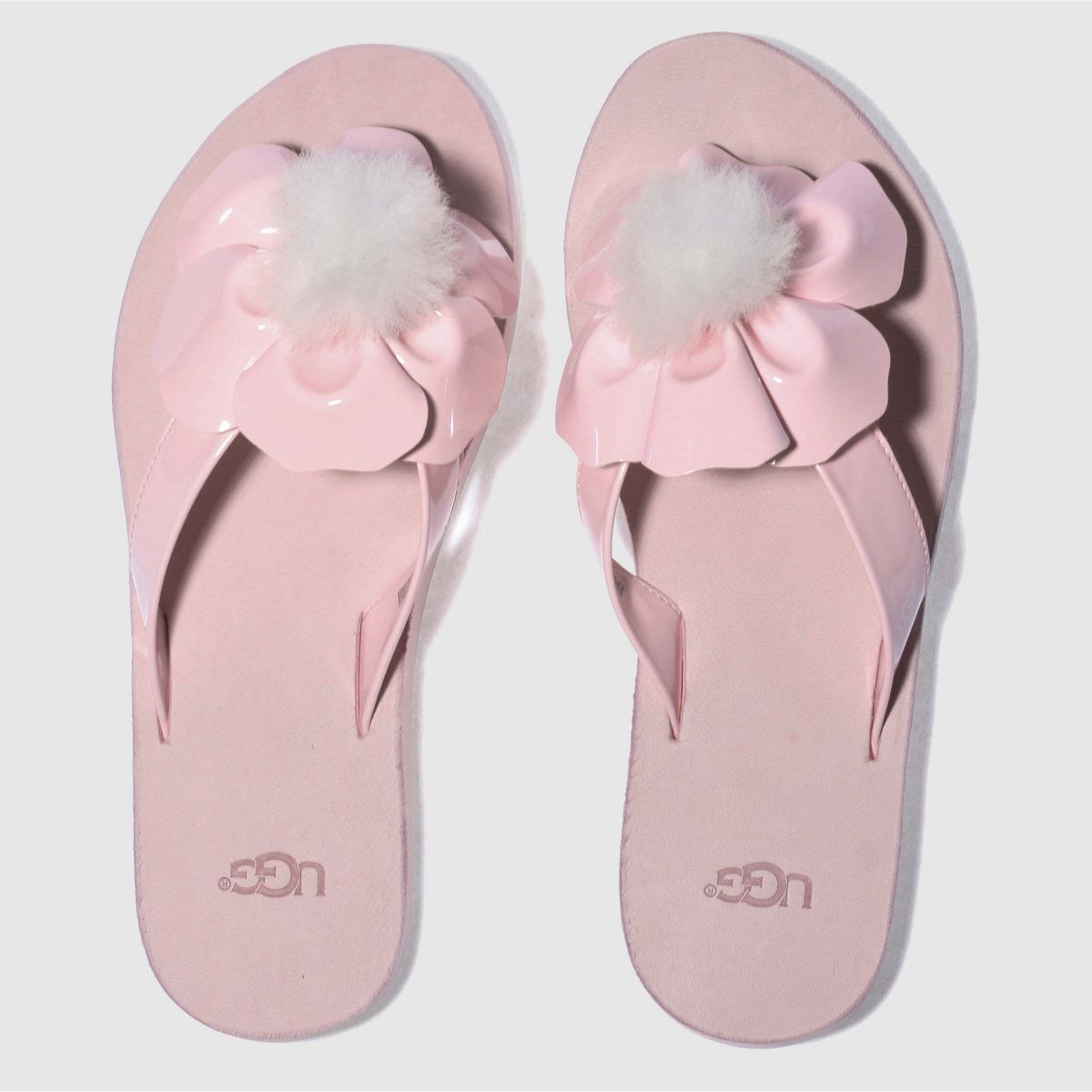 Ugg Pale Pink Poppy Sandals