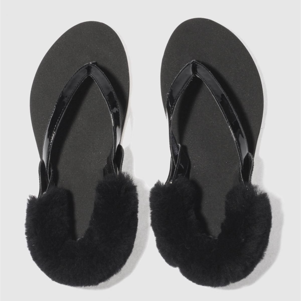 Ugg Black Laalaa Sandals