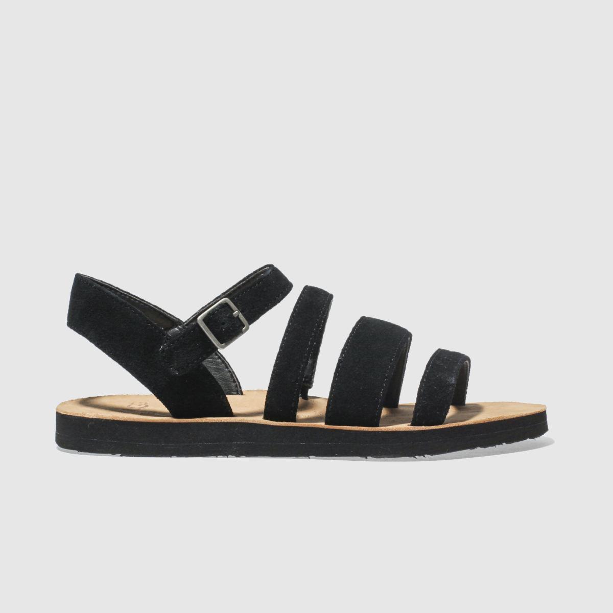 Ugg Black Alyse Sandals