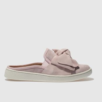 Ugg Pink Luci Bow Womens Flats