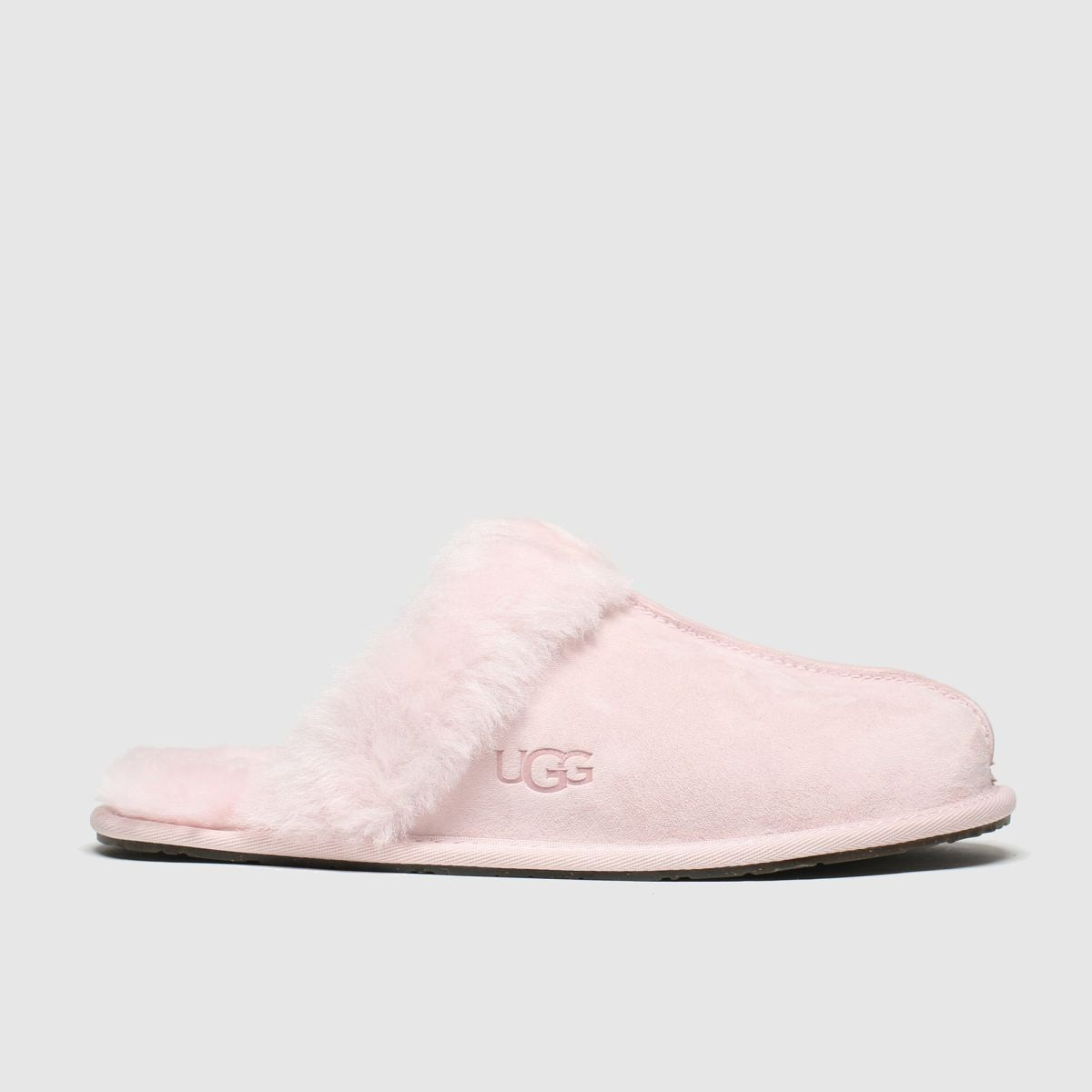Ugg Pale Pink Scuffette Ii Slippers