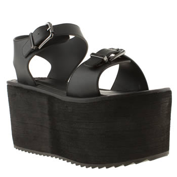 Womens Youth Rise Up Black Orion Sandals
