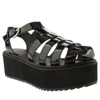 Youth Rise Up Black Marriott Sandals