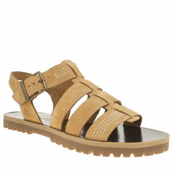 Timberland Natural Knowlwood T-bar Sandals