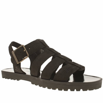 Timberland Black Knowlwood T-bar Sandal Womens Sandals